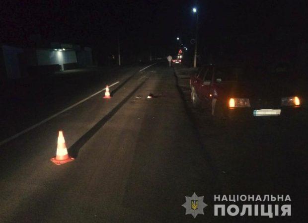 Под Харьковом сбили пешехода: мужчина в реанимации
