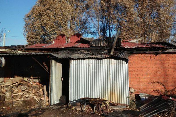 В Харькове произошел масштабный пожар в кафе