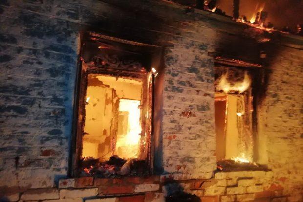 Под Харьковом на пепелище обнаружили обгоревшее тело человека