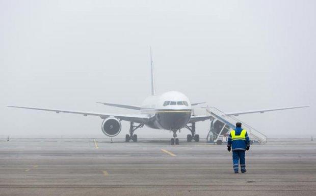Из-за тумана в аэропорту Харькова задерживаются авиарейсы