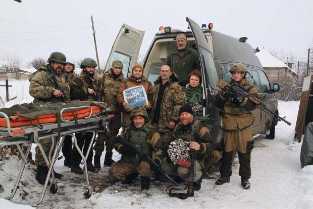 В Харькове Жадан и Дроздов продадут картины известных художников и передадут деньги фронтовым врачам