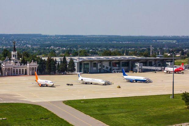 Военное положение: аэропорт «Харьков» работает в штатном режиме