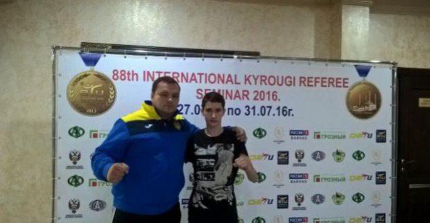 Харьковский тхэквондист победил на чемпионате Европы