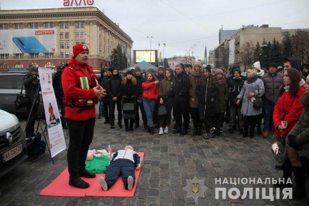 В Харькове почтили память людей, погибших в ДТП