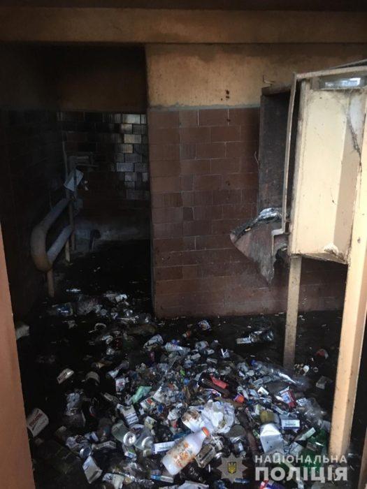 В Харькове в доме произошел взрыв мусоропровода