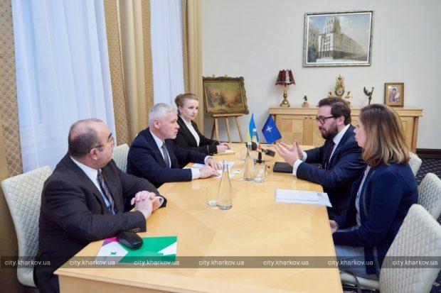 Харьков будет развивать сотрудничество с НАТО