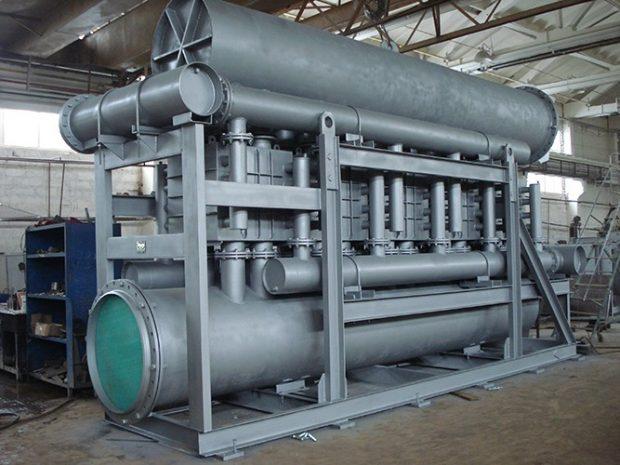 Нагреватель природного газа