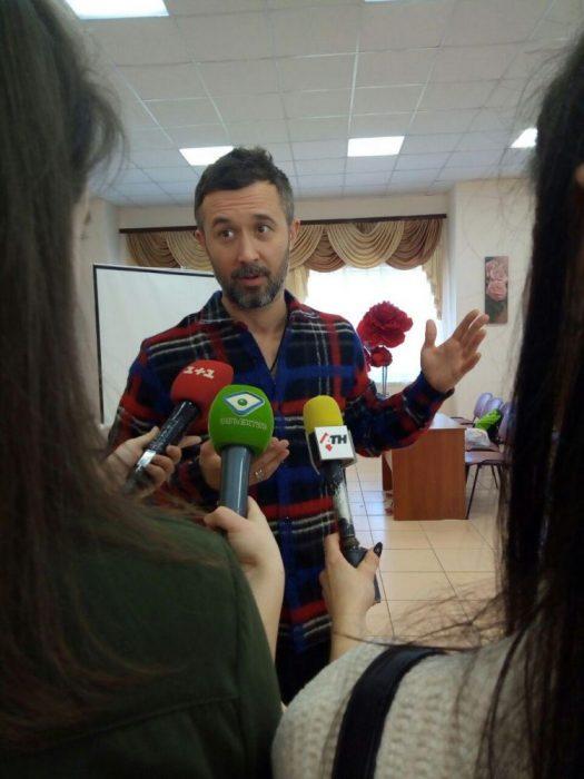 Сергей Бабкин присоединился к благотворительному проекту в Харькове