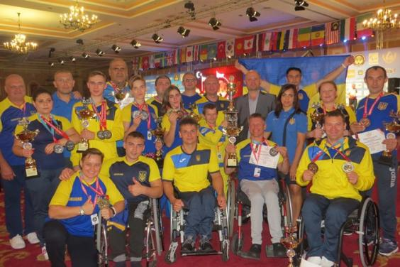 Паралимпийцы Харьковской области успешно выступили на чемпионате мира по армспорту
