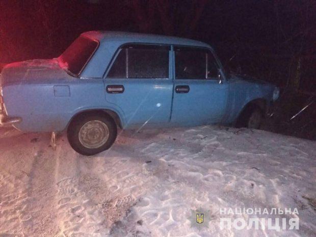 На Харьковщине мужчина украл автомобиль и попал на нем в аварию