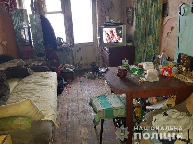 В Харькове молодая мать едва не сожгла квартиру с малолетним сыном