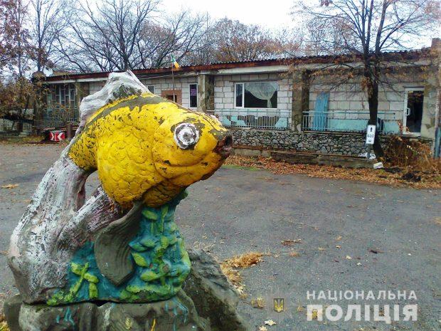 Под Харьковом двое обокрали бывший детский лагерь