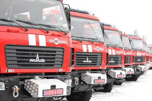 Харьковские спасатели получили новую технику