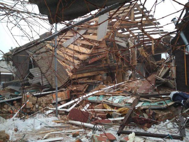 Под Харьковом в результате взрыва бытового газа пострадали люди