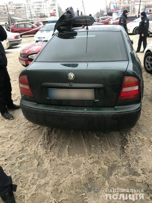 В результате погони на Салтовке разбили четыре машины