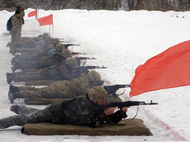 Завершились сборы бойцов теробороны на Харьковщине