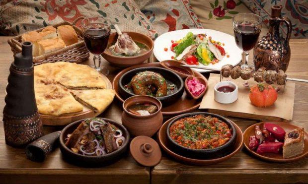 Грузинская кухня на новый год Харьков