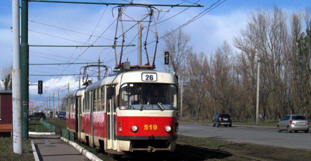 На Салтовке восстановлено движение трамваев