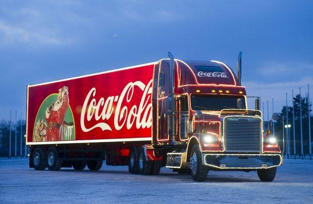 В Харьков приедет новогодний грузовик Coca-Cola