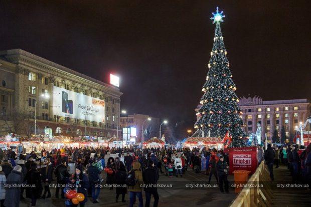 Мэр Харькова утвердил план новогодних и рождественских мероприятий