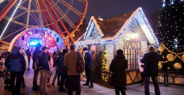 В парке Горького Новый год встретят конкурсами, концертами и пиротехническим шоу