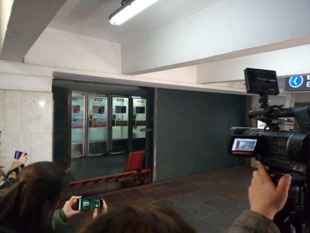 В харьковском метро прошли учения