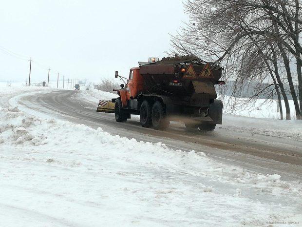 Проезд обеспечен на всех государственных дорогах Харьковщины