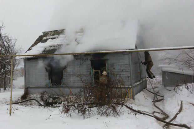 На Харьковщине неправильная эксплуатация электроприбора привела к пожару