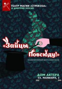 """Театр магии """"Strekoza"""". """"Зайцы повсюду!"""" Харьков"""