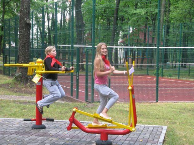 Строительство спортивных площадок в Харькове