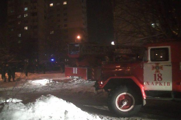 В Харькове горела жилая шестнадцатиэтажка: спасли ребенка и двоих взрослых