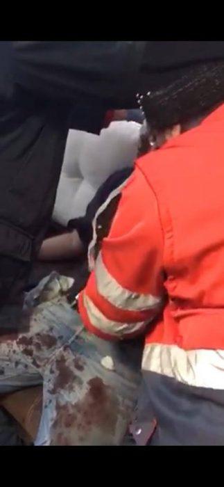 В Харькове неизвестные в масках напали на полицейского: офицер получил тяжелые ранения