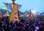 На площади Свободы до середины марта ограничено движение транспорта