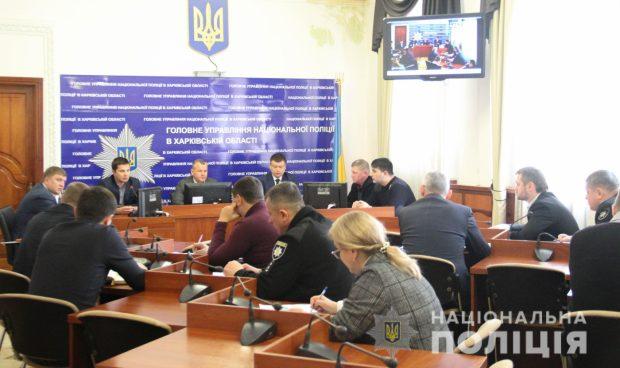 На Харьковщине полицейские начали профилактическую отработку территории региона