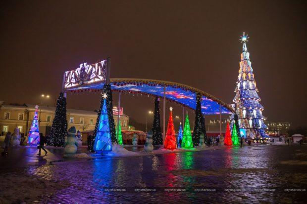 Харьковскую елку внесли в Национальный реестр рекордов