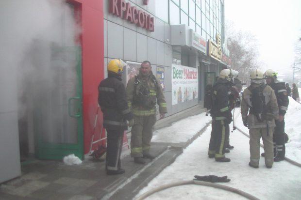 На Алексеевке сгорела сауна