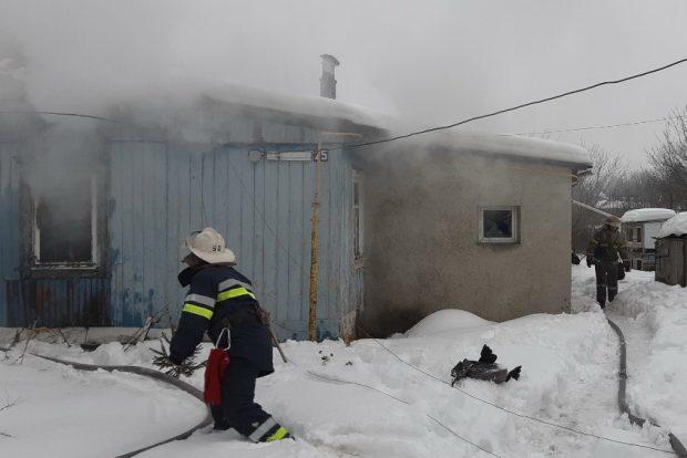 В Чугуеве во время пожара погибли двое людей
