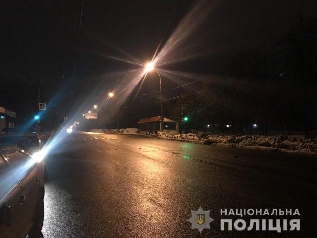 В Харькове водитель Skoda сбил женщину
