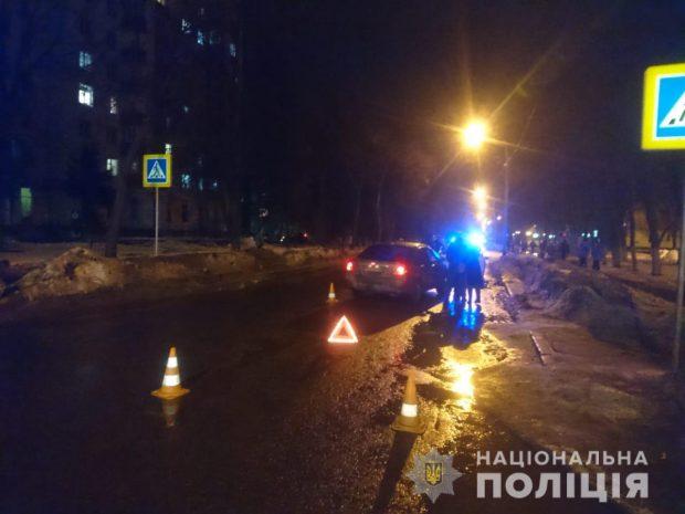 На ХТЗ в результате ДТП пострадала женщина-пешеход