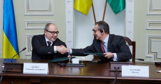 Кернес подписал договор с ЕБРР на закупку новых троллейбусов