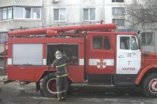 В Харькове во время пожара в 12-этажном жилом доме погиб мужчина