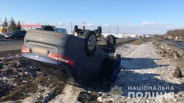 В автокатастрофе под Харьковом погибла женщина (фото)