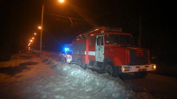 В Харькове на пустыре сгорел бездомный