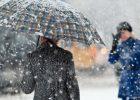 Завтра в Харькове - мокрый снег