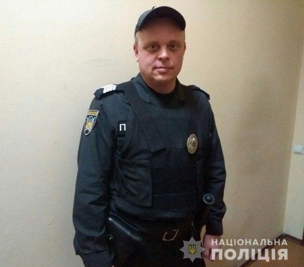 В Харькове полицейский спас пассажиров маршрутки от жуткого ДТП