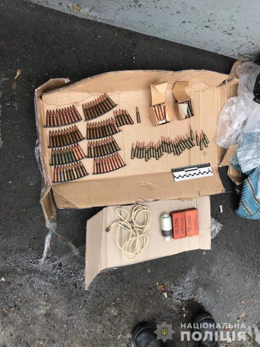 В Харькове блокировали канал торговли оружием из района проведения Операции объединенных сил