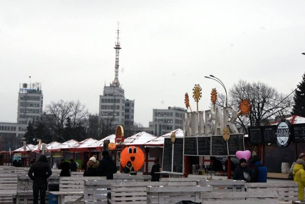Менеджеры Кернеса отдали бесплатно площадь Свободы под ярмарку