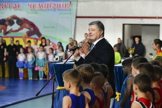Строительство спорткомплекса в Золочеве стоило 23 миллионов гривен