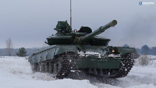 Харьковский бронетанковый завод провел модернизацию более сотни Т-64