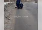 В Харькове из автобуса на ходу выпал мужчина
